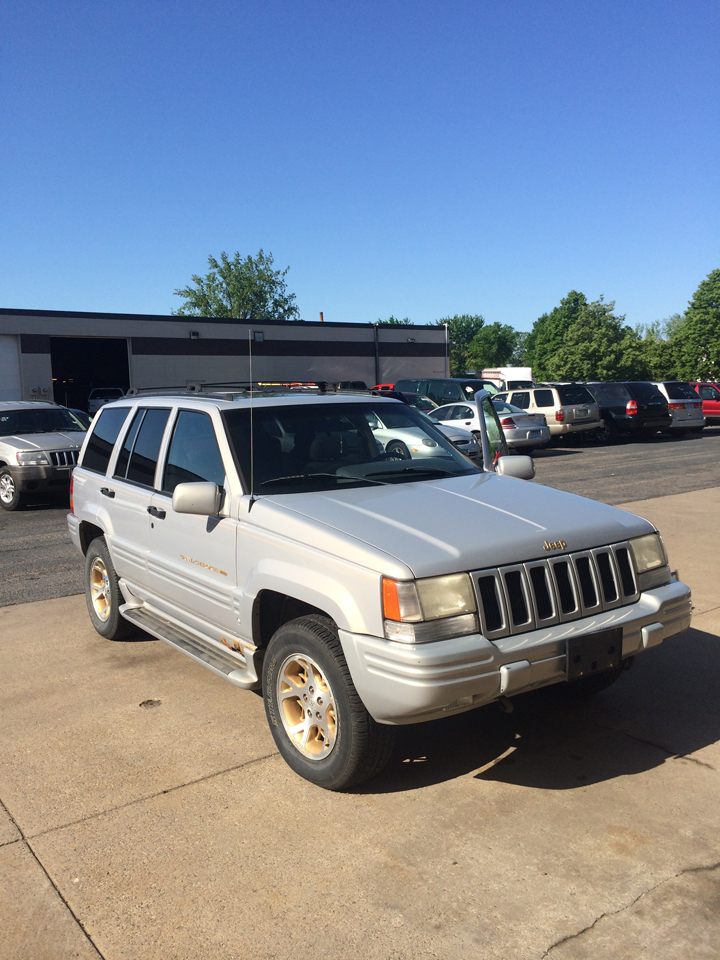 1998 jeep grand cherokee limited for sale car repair blaine auto repair mn. Black Bedroom Furniture Sets. Home Design Ideas